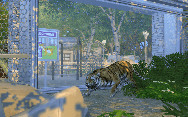 zoo sims 4 tigre