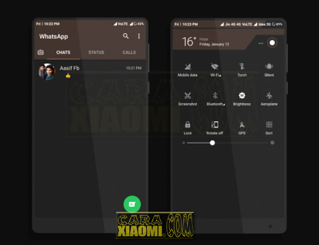 Download Tema MIUI Untuk V9 / V8 Theme Terbaru Coffee Paid Lite Mtz