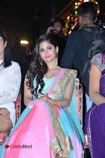 Actress Naina Ganguly Stills in Long Dress at Vangaveeti Audio Launch  0068.JPG