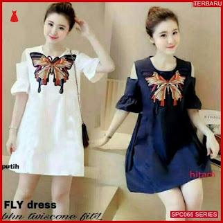 SCP066F39 Fly Dres Twiscone Bhn Dress Wanita | BMGShop