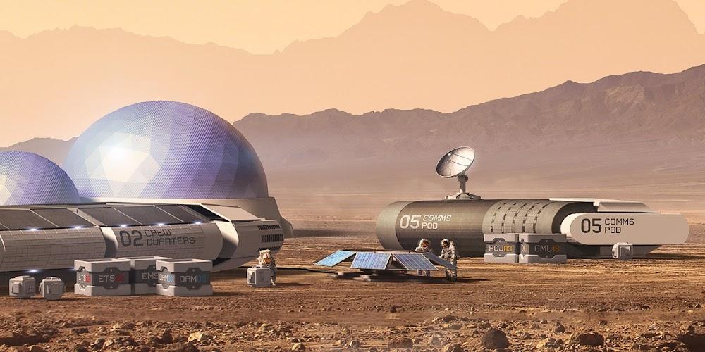 Mars base by Carles Marsal - closeup