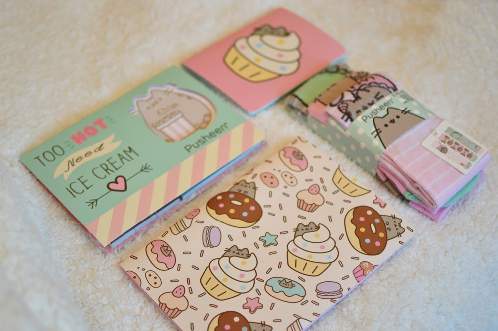 Pusheen Stationery