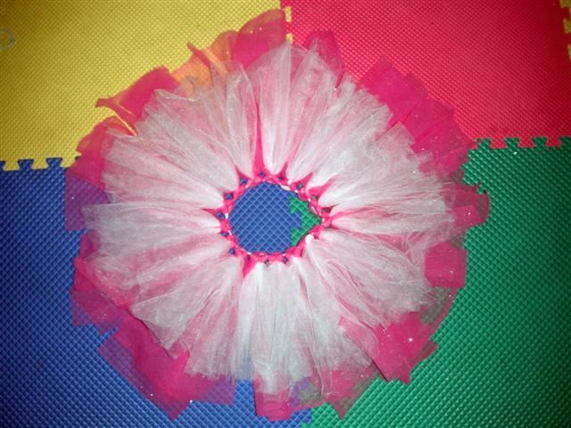 da1db2197 Como hacer un tutu (falda de bailarina de Ballet) paso a paso ...