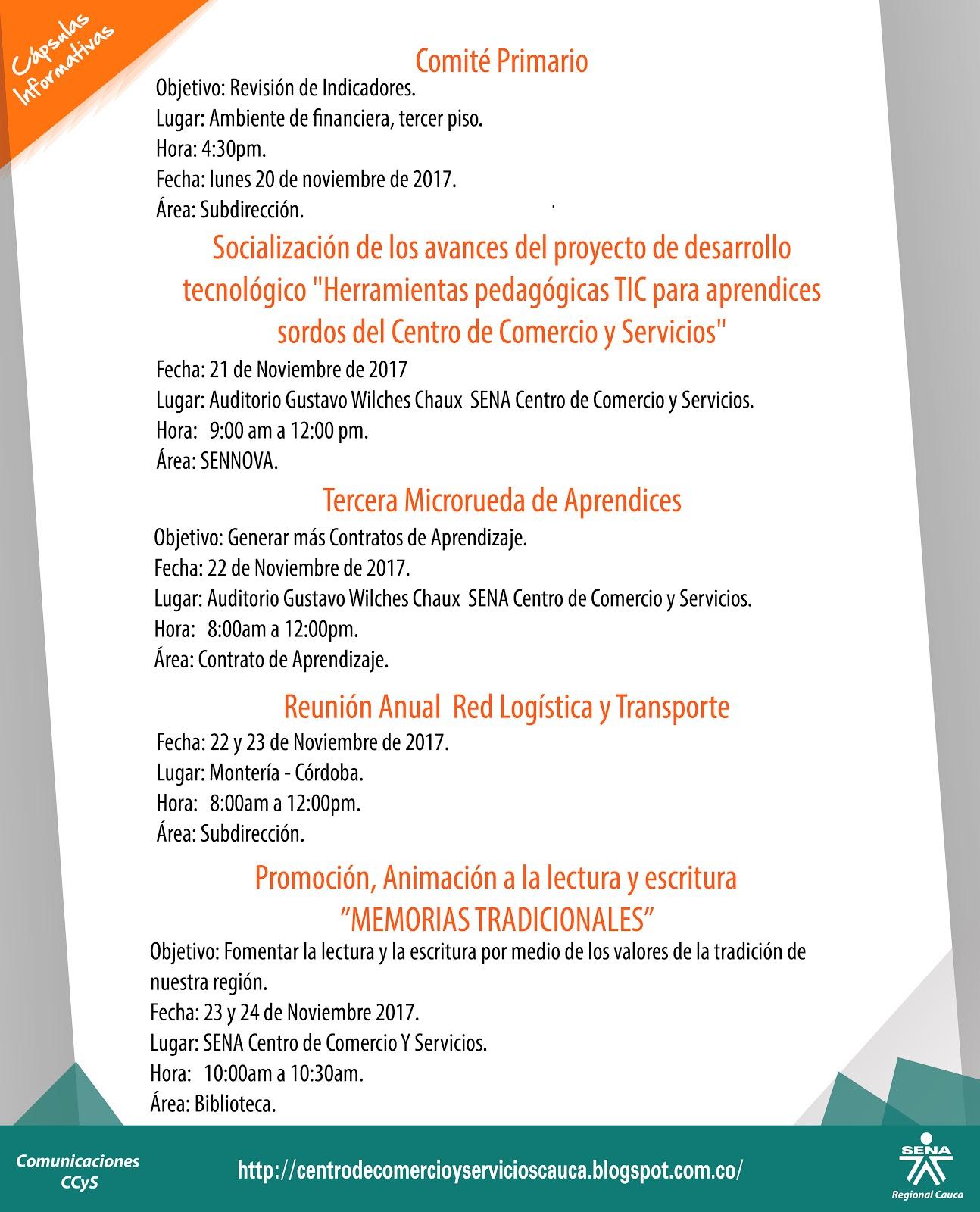 Centro de Comercio y Servicios SENA Regional Cauca: Cápsulas ...