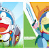 Doraemon in WPAP by Rahman Kamal