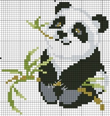detskaya vishivka panda