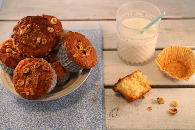 hazelnut-cupcakes, cupcakes-de-avellanas