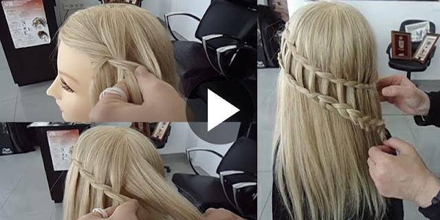 DIY - How To Make Ladder Braid Hairstyle - See Tutorial