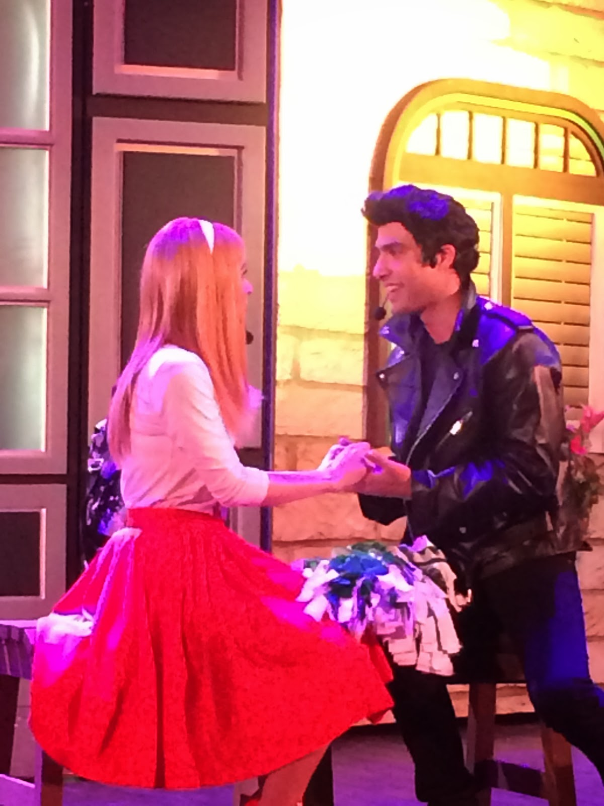 Grease The Musical Pakistan - Sandy & Danny played by Ahmed Ali and Ayesha Omer