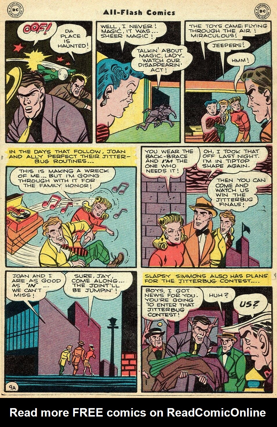 Read online All-Flash comic -  Issue #25 - 10