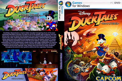 Jogo DuckTales Remastered PC DVD Capa