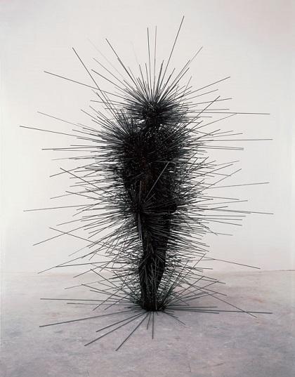 "Antony Gormley - ""Capacitor"", 2001. | imagenes obras de arte figurativo abstracto, esculturas figurativas abstractas | art pictures inspiration, cool stuff"