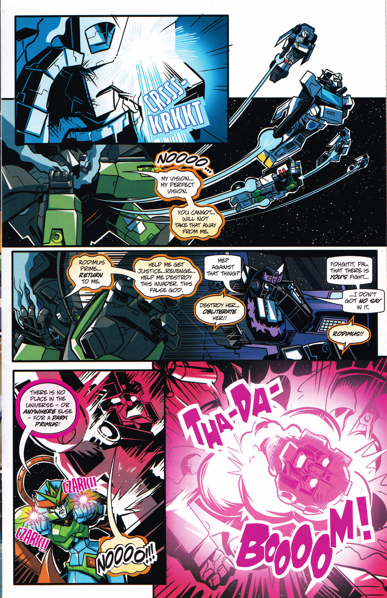 Read online Transformers: Collectors' Club comic -  Issue #66 - 13