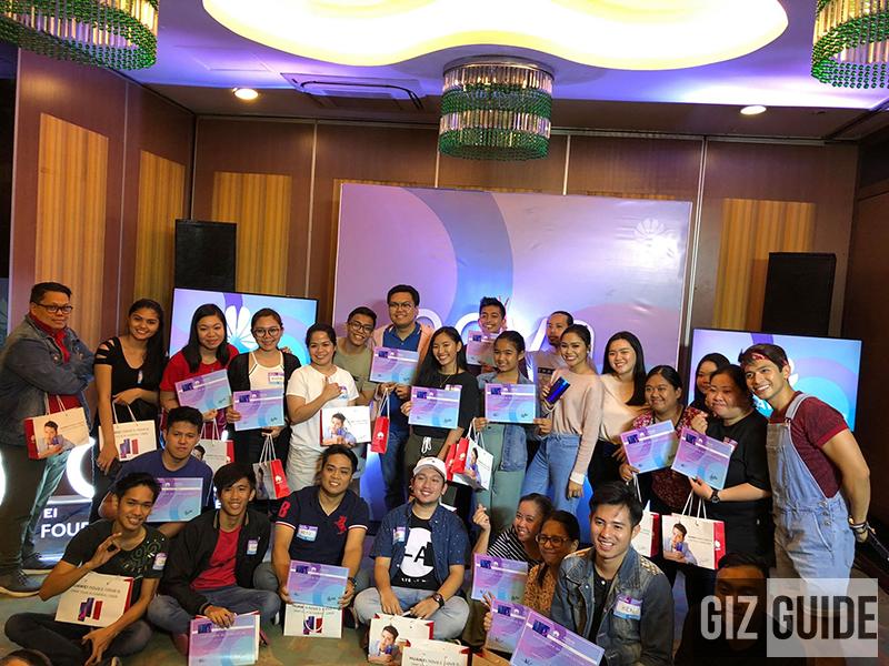 #HuaweiNovaAcademyPHxThatsBella participants