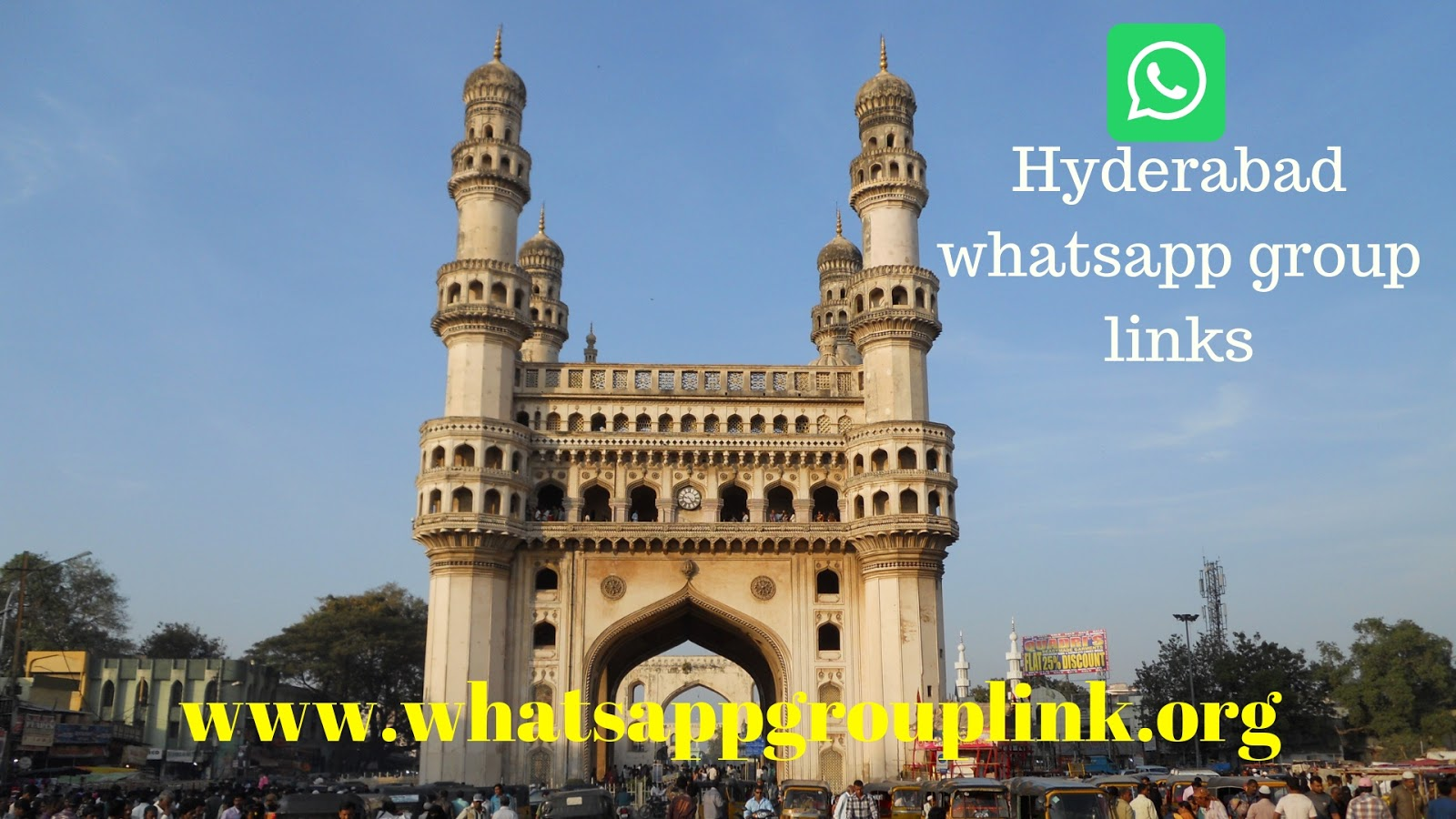 JOIN HYDERABAD WHATSAPP GROUP LINKS LIST - Whatsapp Group Links