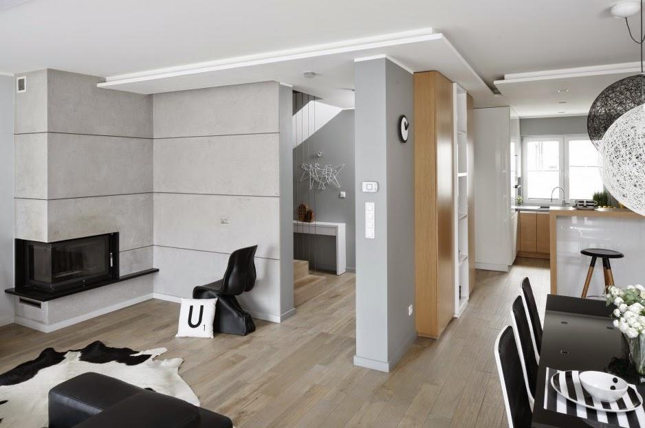 salon decorado en gris