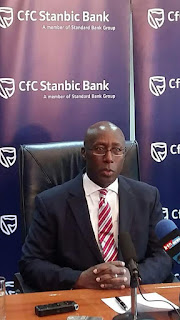 Cfc stanbic bank CEO announces 14.5% as new interest rate on credit facilities loans