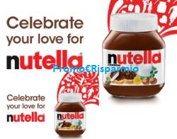 Logo Concorso Nutella e vinci da 500 e fino a 4.000 euro