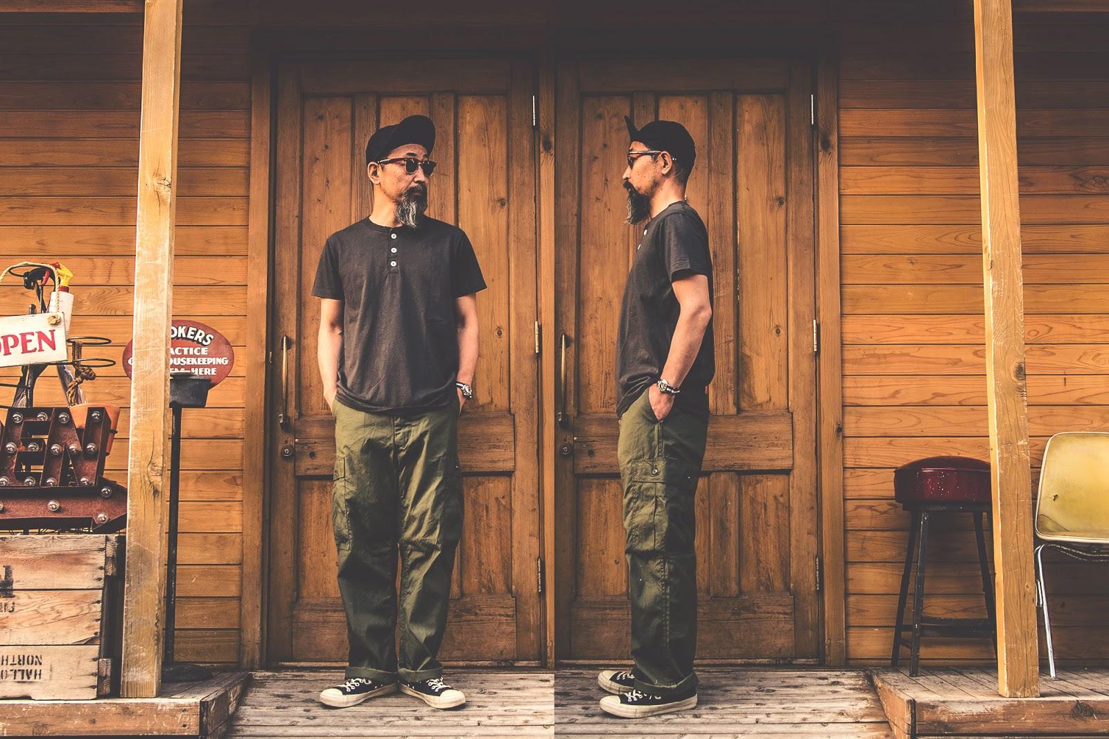 ベルバシーン ピグメント ヘンリーネック  アメリカ製 ヘンリーネック 通販 Tシャツ