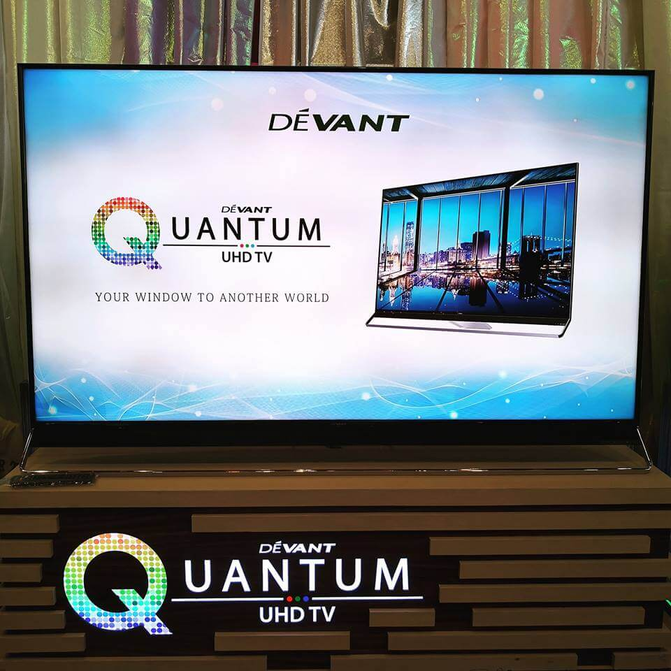 Devant Introduces Quantum UHD TV; Price Starts at Php59,950!
