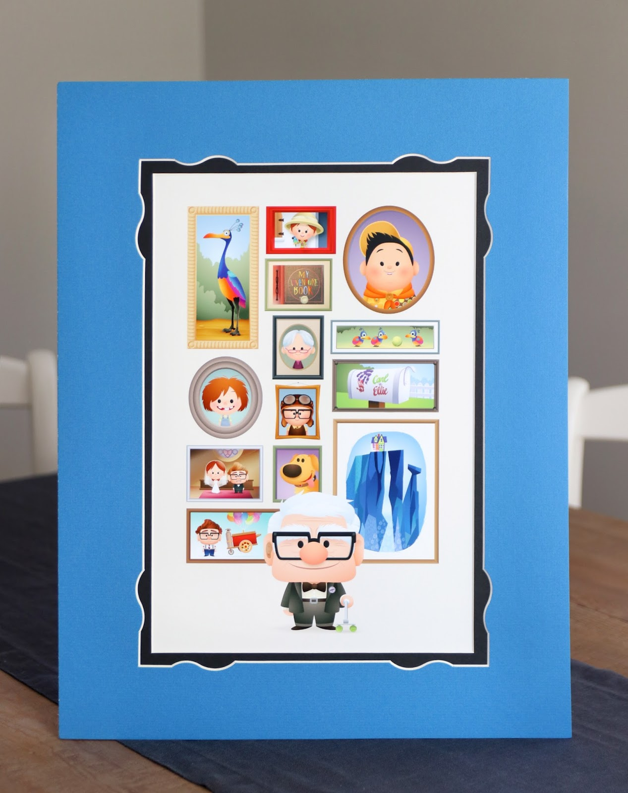 "disney pixar up art print ""a life of adventure"" by Jerrod Maruyama"