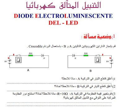 cours diode electroluminescente
