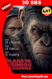 El Planeta De Los Simios: La Guerra (2017) Latino 3D SBS BDRIP 1080P - 2017