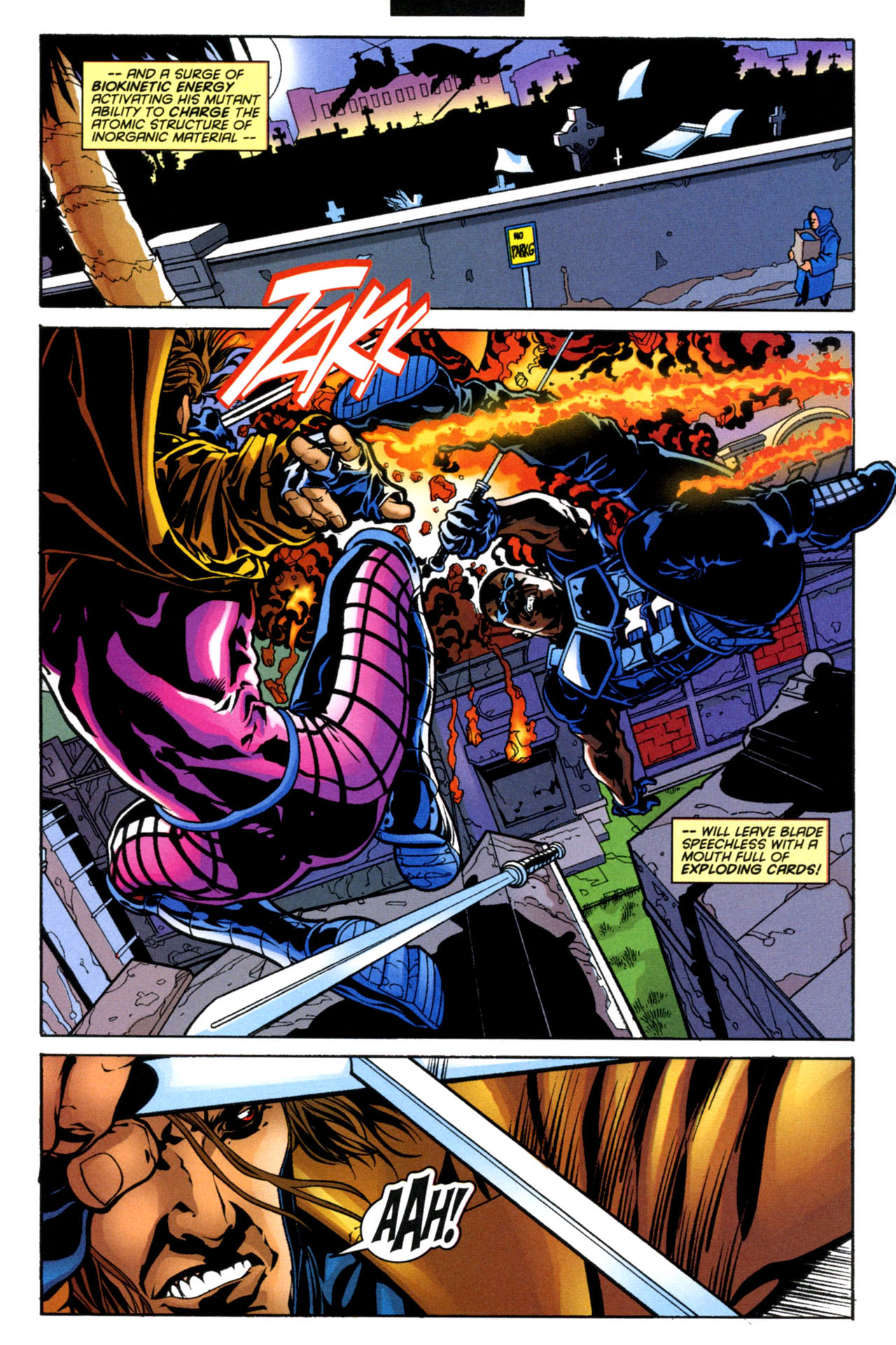 Gambit (1999) 4 Page 12