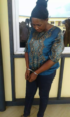 Photos: Ghanaian woman arrested after she contracted someone to kill her business partner