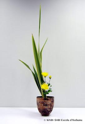 Ikebana-shoka-shofutai-arranjament-florali