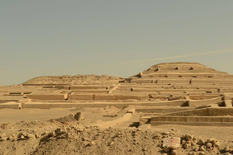 Piramida Cahuachi, Nazca Peru