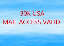 30K USA MAIL ACCESS VALID