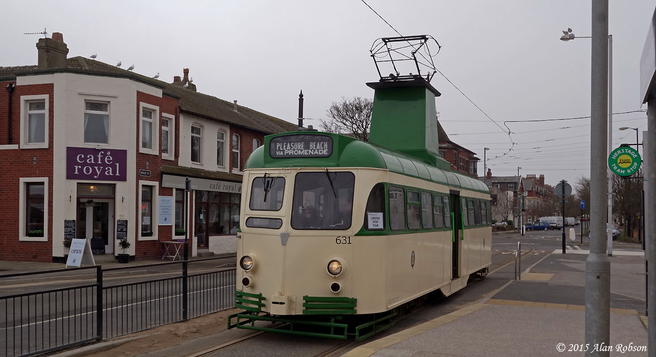 Blackpool Tram Blog Easter Monday Heritage Tours