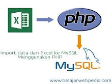 Aplikasi Import Data Siswa Dari Excel Ke Database MySQL Dengan PHP