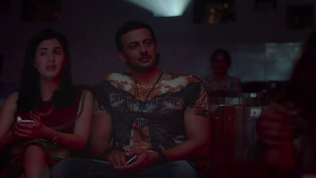 Kirti Kulhari and Arunoday Singh in the movie Blackmail
