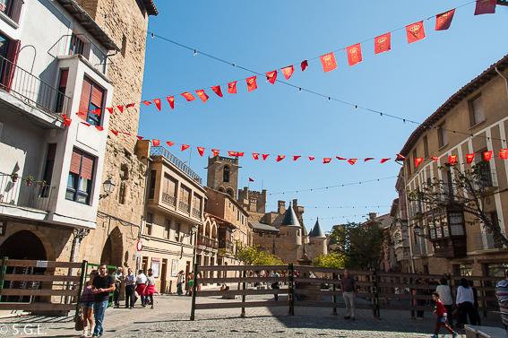 Descubriendo Navarra. Olite y la Plaza Carlos III el Noble