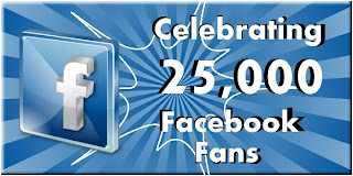 25,000 Facebooks Fans = $50 Amazon Gift Card