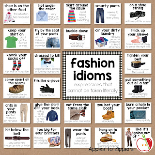 Fashion Idioms