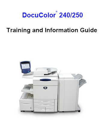 Xerox DocuColor 240/250 Manual