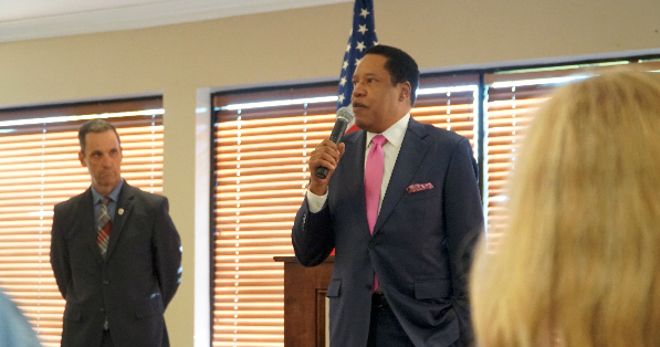 Rep. Steve Knight (R-Calif) Breakfast Reception, Keynote Speaker: Los Angeles Radio Icon, Larry Elder (VIDEO)