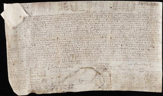 Un bono del Siglo XVII que sigue pagando intereses