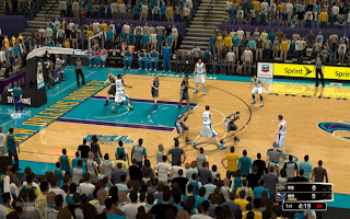 NBA 2K13 New Orleans Hornets Court Arena