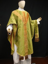New Green Gothic Revival Chasuble from AltarWorthy