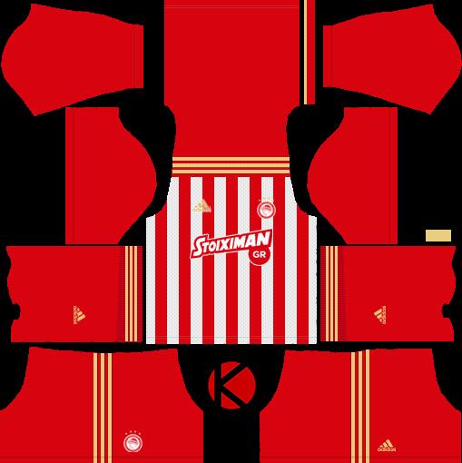 Olympiacos Fc 2018 19 Kit Dream League Soccer Kits Kuchalana