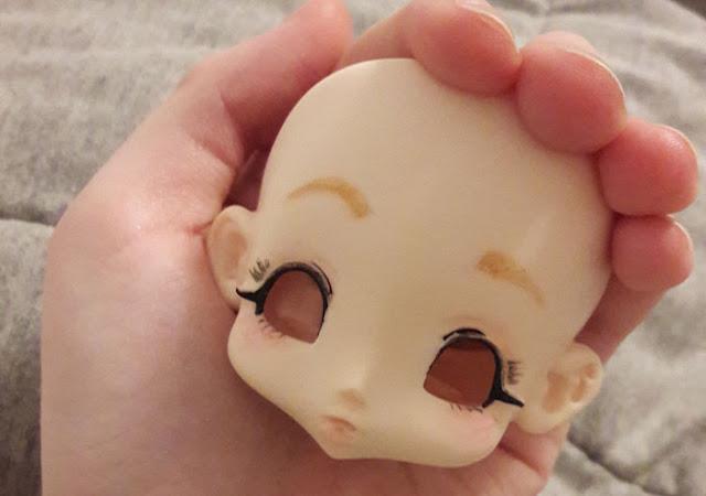 faceup da boneca