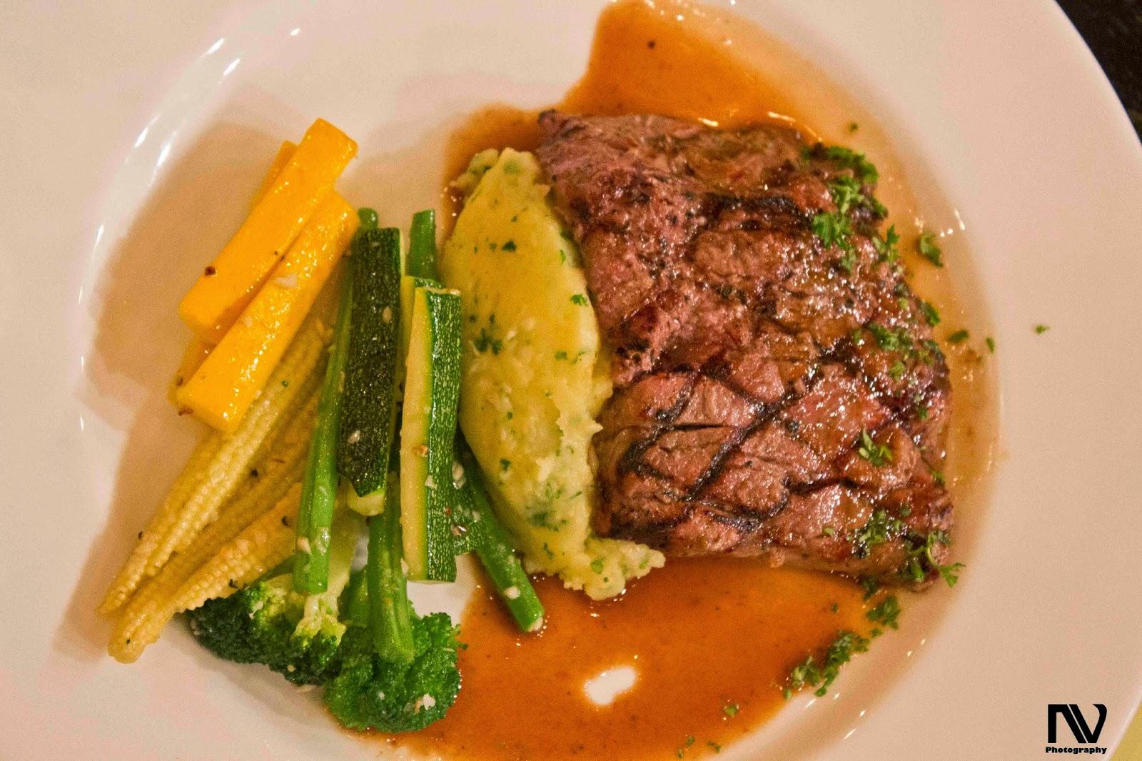 Beer and Herb Steak