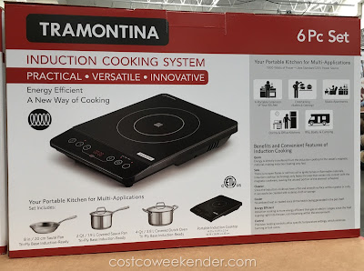 Tramontina Induction Cooking System - Practical, versatile, innovative