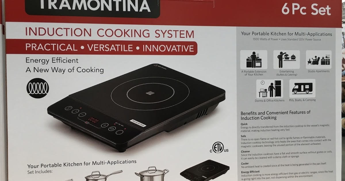Tramontina Induction Cooking System (6 Piece Set)
