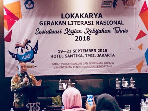 Lokakarya Gerakan Literasi Nasional
