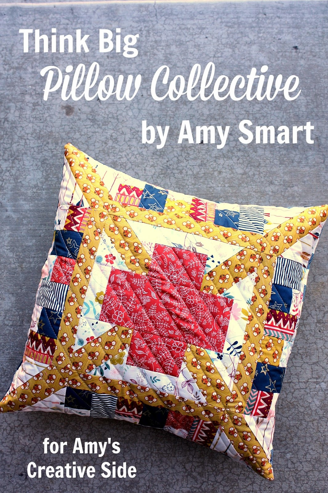 Think big patchwork pillow ideas diary of a quilter a quilt blog baditri Choice Image